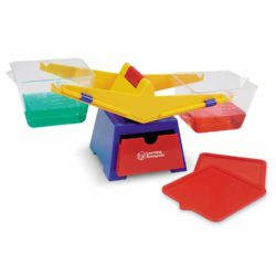 Learning Resources Primary Bucket Balance (0.4 Litre Weighing Scales)
