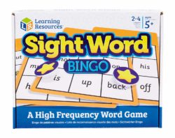 Learning Resources Sight Word Bingo Word Game