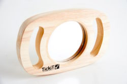 TickiT Sensory Easy Hold Plane Mirror in a Frame