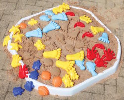 TickiT Bumper Sand Moulds (40 Moulding Pieces)