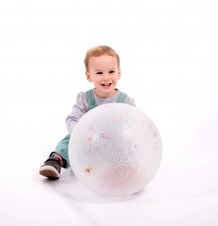 TickiT Large Sensory Constellation Ball (Clear with Colourful Beads)