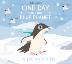 One Day on Our Blue Planet In the Antarctic (Flying Eye Picture Book, Hardcover)
