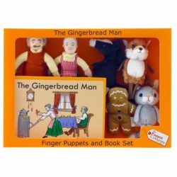 The Puppet Company - Gingerbread Man - Traditional Story Set (Finger Puppets   Book)