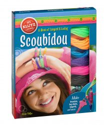 Scoubidou Strings - Bracelets, Keyrings and Ponytail Holders (Klutz Arts & Crafts Kit)