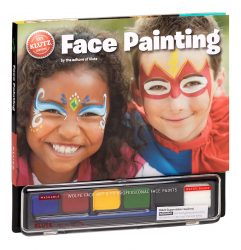 Face Painting (Klutz: Book + Face Paints + Brush + Sponge)