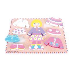 Bigjigs Toys Dressing Girl Puzzle
