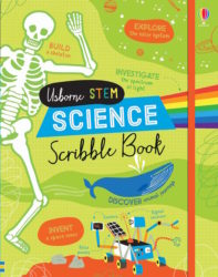 Usborne Science Scribble Book (STEM Activity Book)