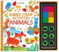 Usborne Rubber Stamp Activities: Animals (Book + Stamps + Paint)