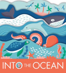Into the Ocean (words & pictures Board Book)