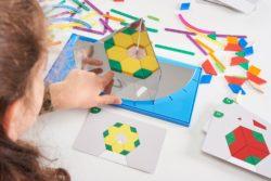 Junior Geoland Geometry Mirror Set (150 Pieces, Math & Science - Edx Education)