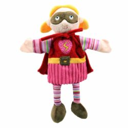 The Puppet Company - Super Hero Storytelling Hand Puppet (Superhero Pink Puppet)