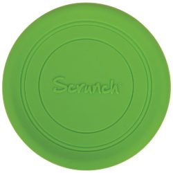 Scrunch Bendable and Foldable Soft Frisbee (Green)