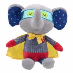 Wilberry Elephant Super Hero (Superhero Soft Toy)