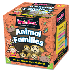 Brainbox Animal Families (Memory Game)