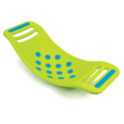 Folkmanis Teeter Popper Balance Wobble Board (Green - Fat Brain Toys)
