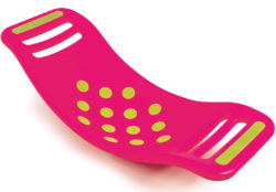 Folkmanis Teeter Popper Balance Wobble Board (Pink - Fat Brain Toys)