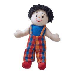 Lanka Kade Boy Doll - White Skin, Black Hair
