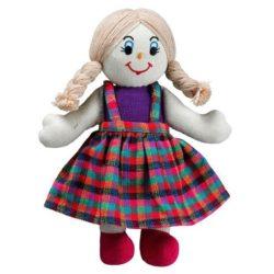 Lanka Kade Girl Doll - White Skin, Blonde Hair