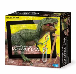 4M Tyrannosaurus Rex Dinosaur DNA Digging Toy (Augmented Reality Dinosaur Skeleton Excavation Kit)