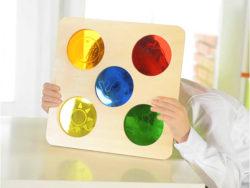 Colour Viewer Sensory Board (masterkidz Translucent Colours Panel)