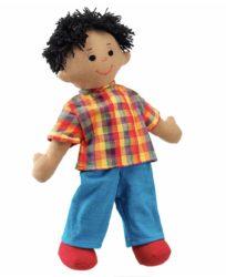 Lanka Kade Dad Doll - Brown Skin, Black Hair