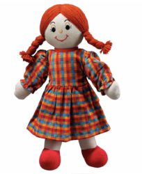 Lanka Kade Mum Doll - White Skin, Red Hair