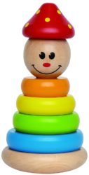 Hape Clown Stacker (Stacking Eco Toy)
