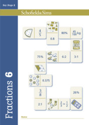 Schofield & Sims Fractions, Decimals and Percentages Book 6 - Year 6, Ages 10-11